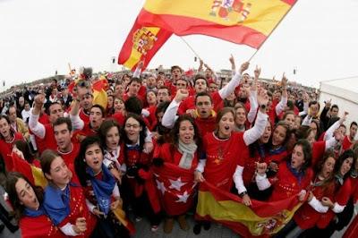 madrid+jornada+2011 Millón de seguidores en las redes sociales   Jornada Mundial de la Juventud Madrid del 16   21 de Agosto 2011 con el Papa Benedicto XVI