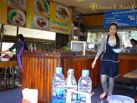 Kow Soy shop in Mae Sai, Thailand