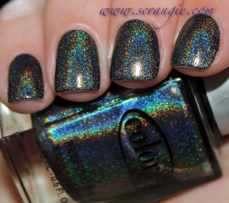 Scrangie: Color Club Halo Hues Holographic Nail Polish Collection ...