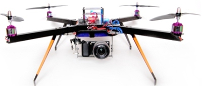 3D Robotics for open source drones- your plastic flying robot buddy