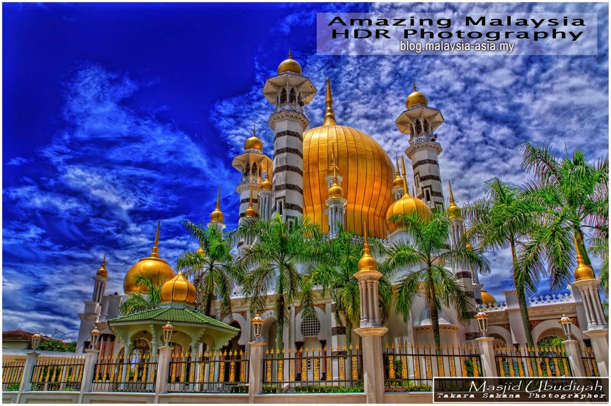 Ubudiyah Mosque, Perak HDR Photography