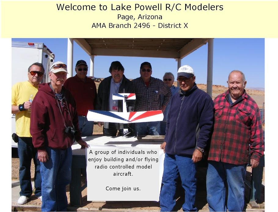 Lake Powell R/C Modelers