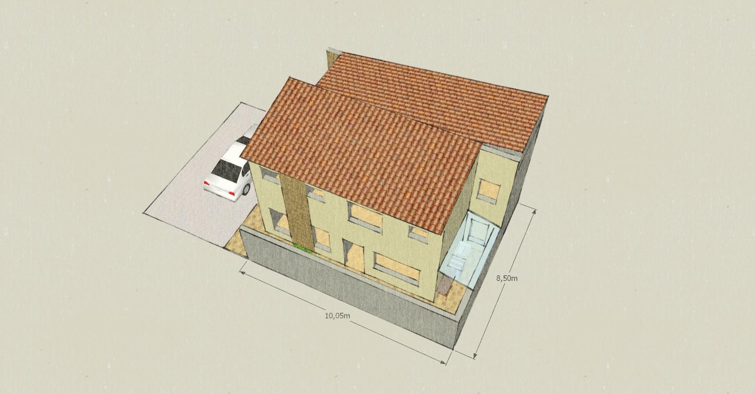 De coração: projeto 01   casa de 8,50 x 10,00 e boas vindas