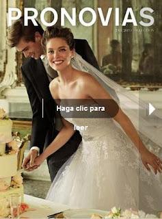 catalogo de vestidos pronovias 2013