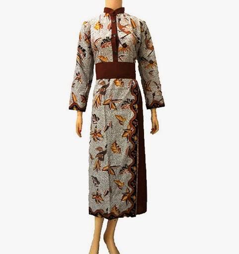 Info Baju Gamis Batik Info Model Baju Gamis Terbaru