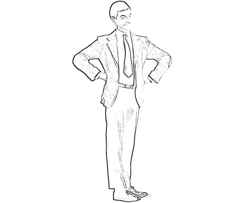 Free Mr Beans Teddy Coloring Pages Mr Bean Coloring Pages
