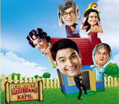 Poster of Comedy Nights with Kapil [315MB] Gunday (2014) 9th February comedy nights with kapil  free download at moviefree4u.in