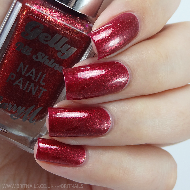 Barry M Sparkling Ruby