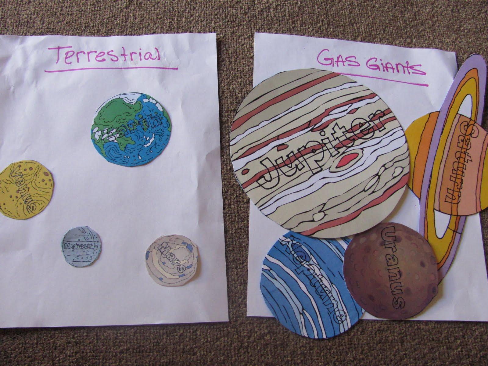 preschool planets lesson plans - photo #40