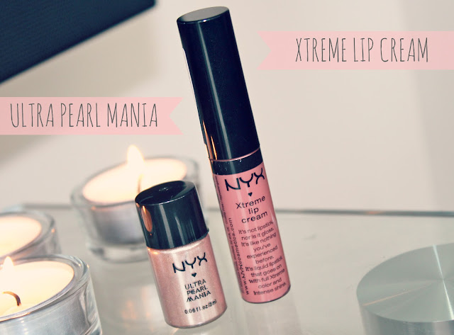 NYX Cosmetics, NYX Xtreme Lip Cream, NYX Loose Pearl Powder, UK Beauty Blog, NYX Guest Blogger