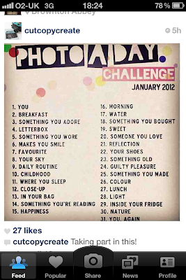 A Photo A Day in January: Instagram Challenge