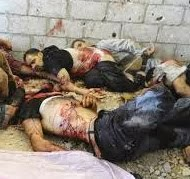 Barbarism Alert - Death Toll in Syria is 120,296 souls - as of October 31, 2013