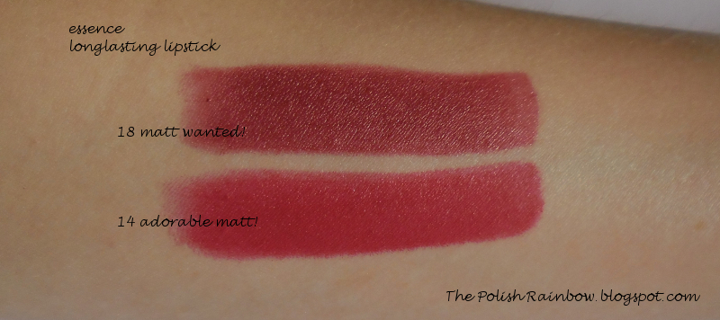 The polish rainbow essence longlasting lipstick matt wanted - Peinture mat essence ...