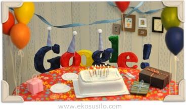 Ulang Tahun Google Yang Ke 13