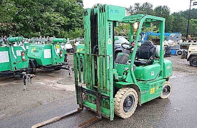 Komatsu Forklifts for Rent in NY - Durante Rentals