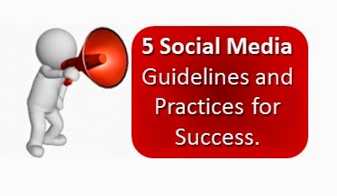 top 5 Social Media Rules for Success