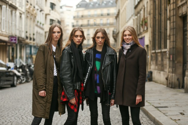 Valentino girls, Paris, January 2016