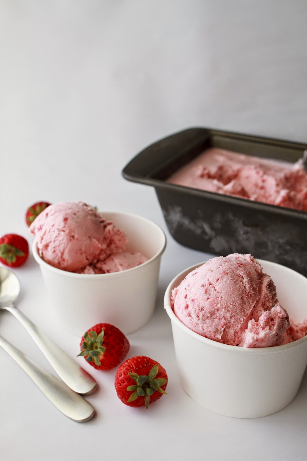 Strawberry Ice Cream | My Name Is Snickerdoodle