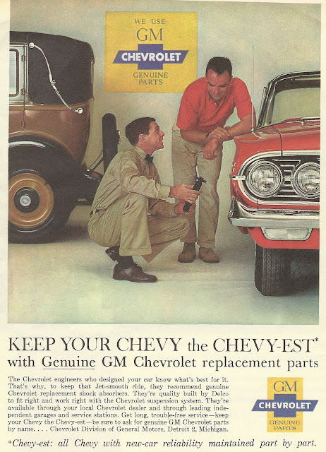 Funny Replacement Parts : Old ads are funny ad genuine gm chevrolet