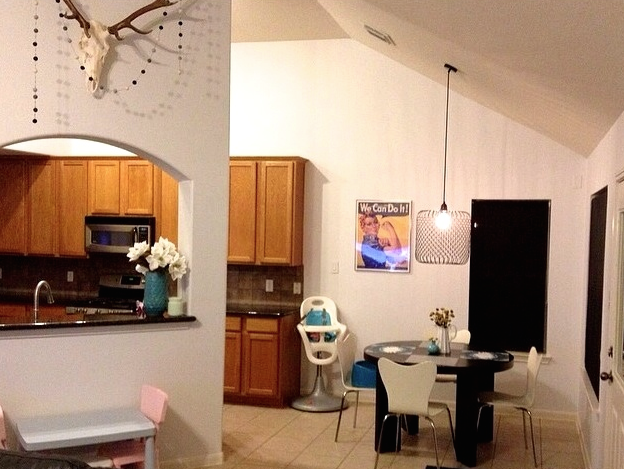 Kitchen Transformation Before And After: Thrifty Tuesday: Before & After Kitchen Transformation
