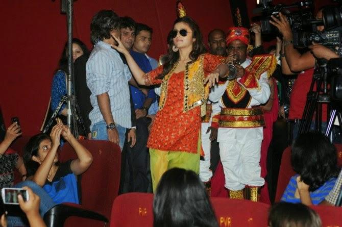 Alia Bhatt Daning