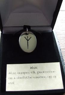 Algiz Rune Pendant
