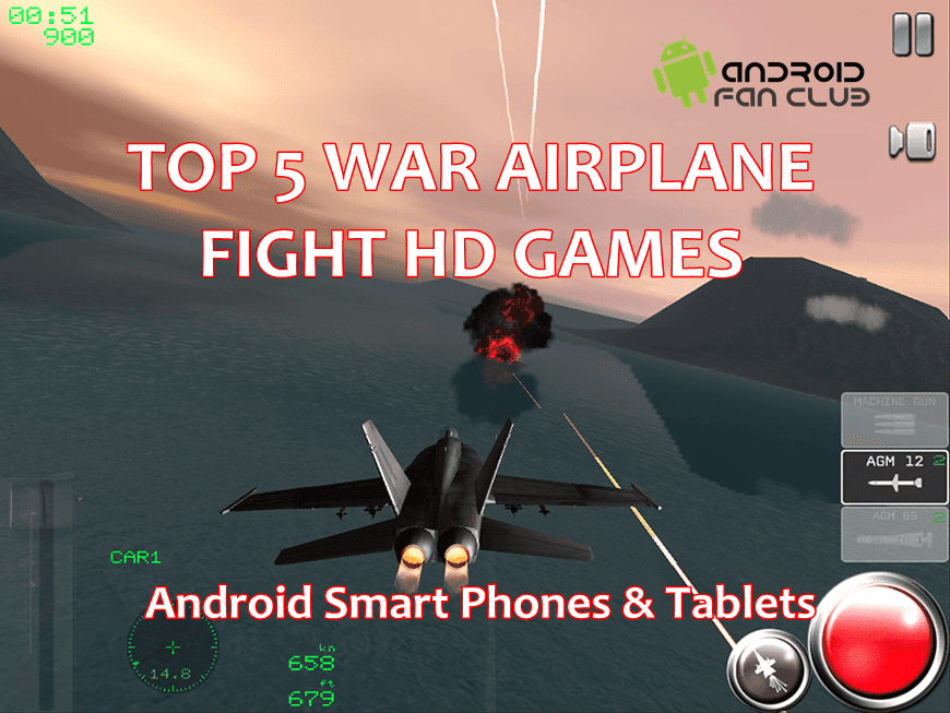 Top 5 Free War Airplane Fight HD Games For Android - Download APK Full