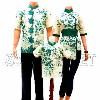 SK015 Sarimbit Batik Keluarga Pasangan Solo 2013
