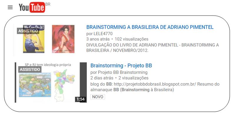 O Youtube e o BB....