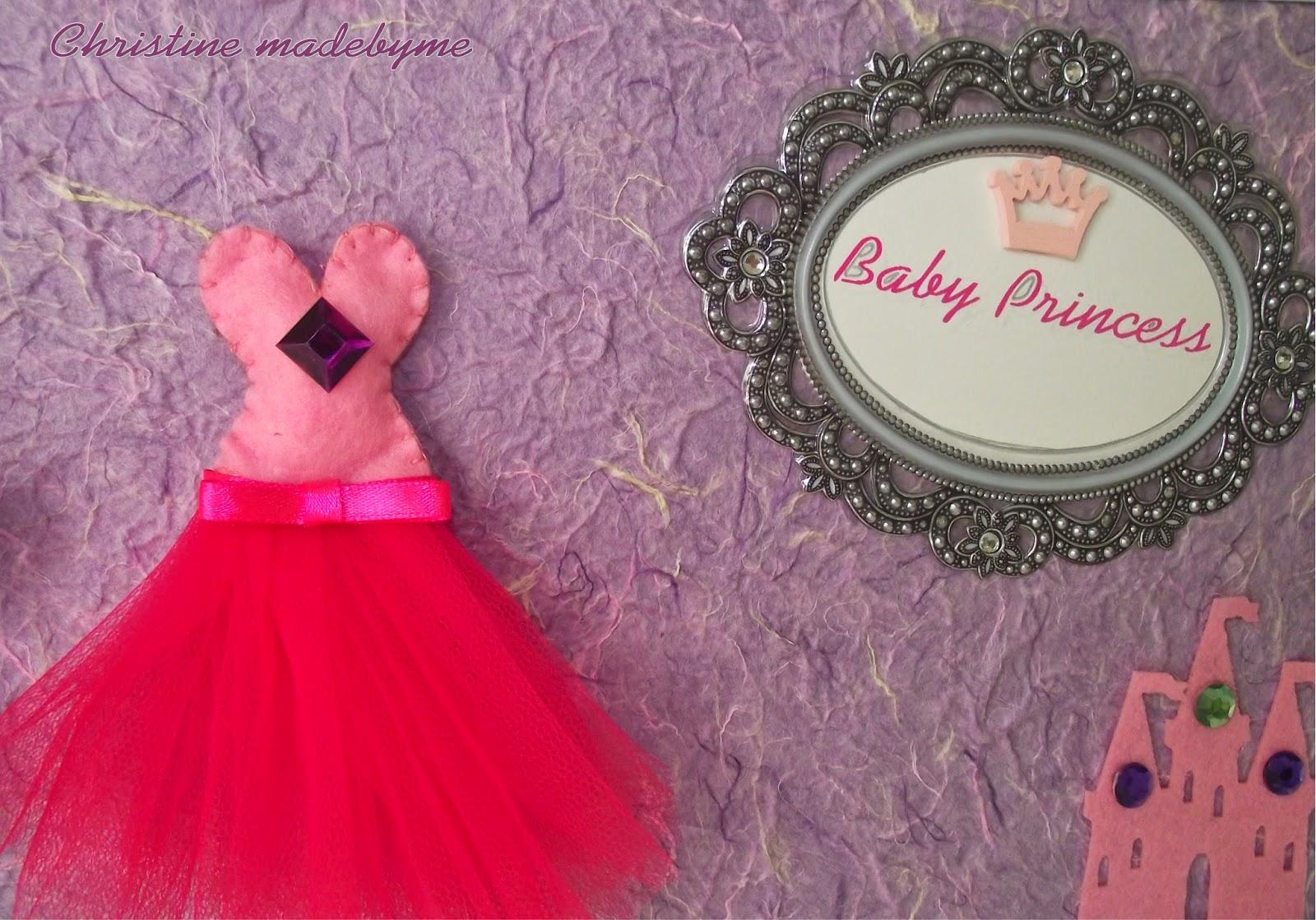 """Χειροποίητο κάδρο """"Baby Princess"""""""