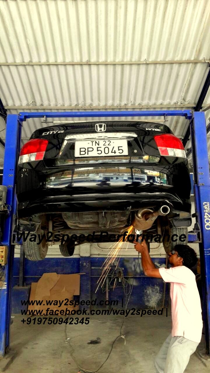 Honda City Free Flow Exhaust | Way2speed performance