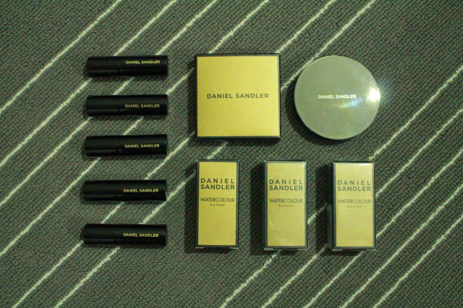 Daniel Sandler Makeup Haul
