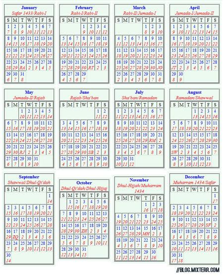 islamic calendar with english calendar 2015 pdf