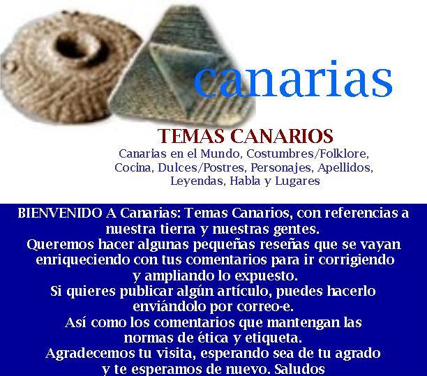 Canarias. Temas Canarios