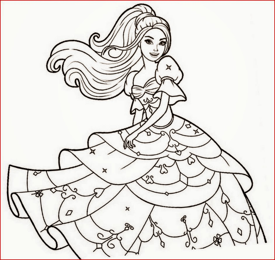 Coloring Pages: Fashionable Girls free printable coloring pages Free ...