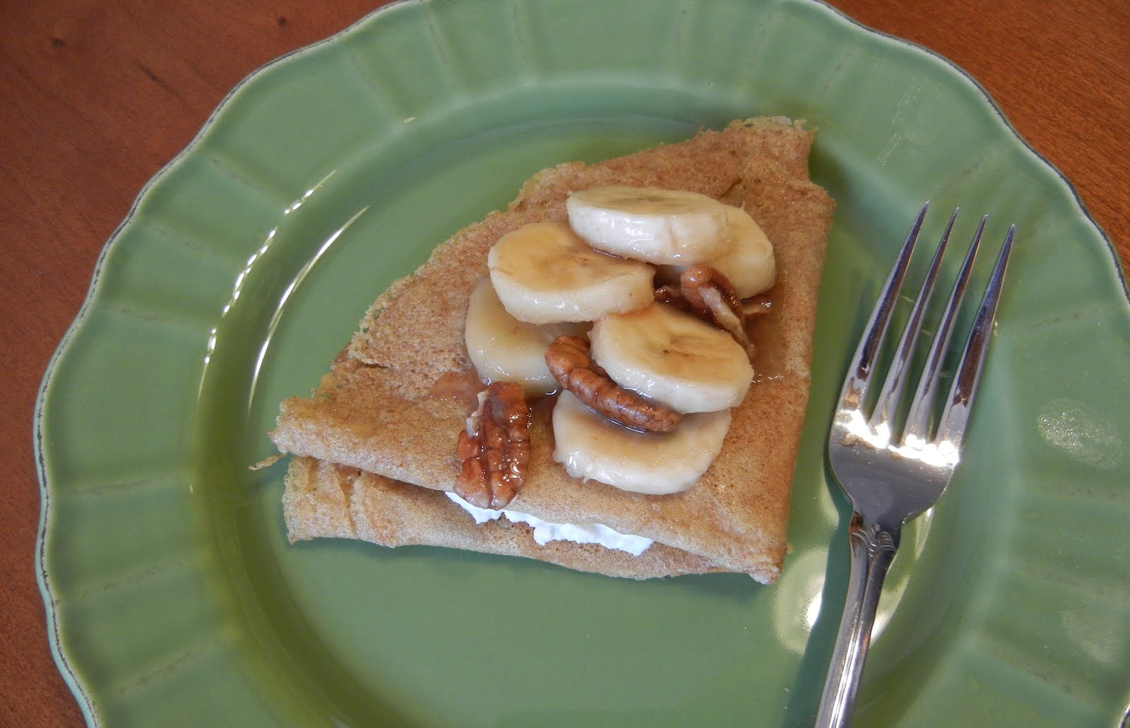 Shelly's Bananas Foster Crepes