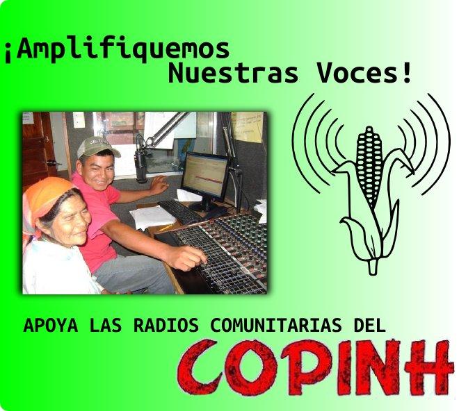 Unterstütze die komunitären Radios des COPINH