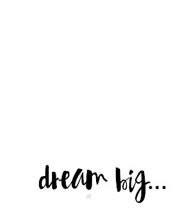 LostBumblebee ©2015 MDBN : DREAM BIG : Donate to download : Printable : Personal Use Only.