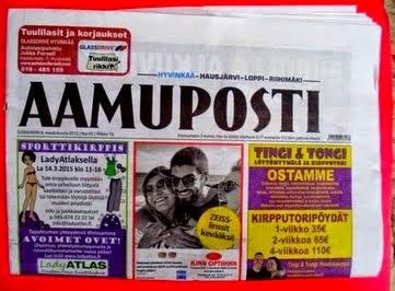 ROMULYYLI AAMUPOSTISSA