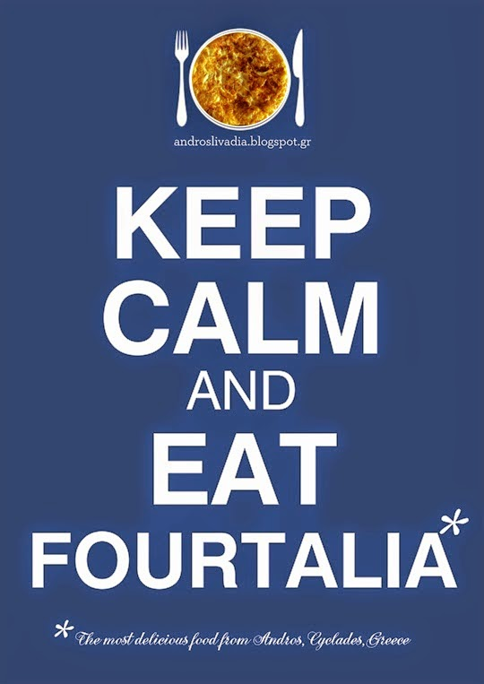 Keep calm & eat fourtalia