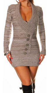 sexy sweater dress for women
