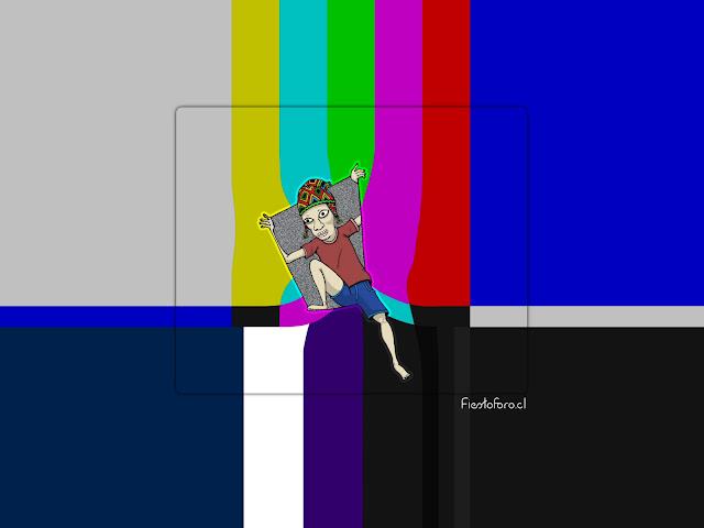 Sale de la tele loco!