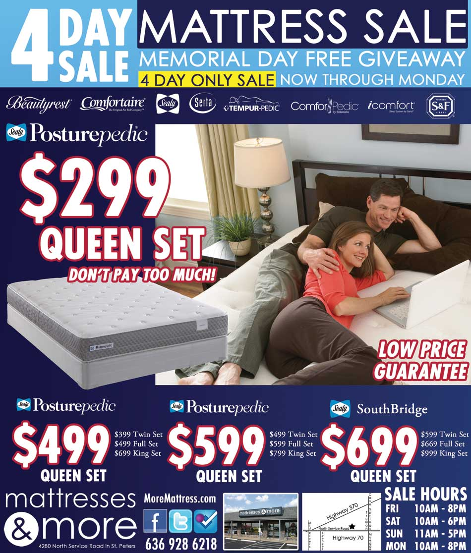 Memorial Day Mattress Sale 2016