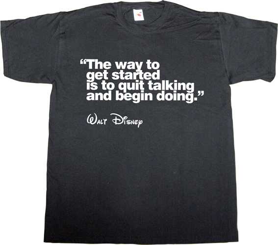 brilliant sentence walt disney t-shirt ephemeral-t-shirts