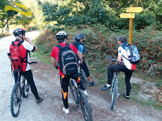 rutas en bicicleta por Galicia