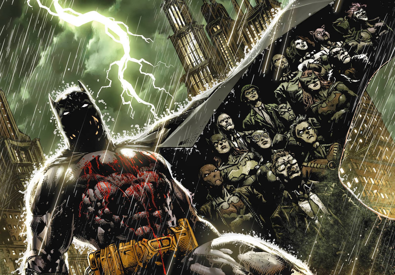 Batman: Eternal & Detective Comics #27 Announced - NYCC 2013