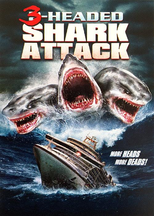 O Ataque do Tubarão de 3 Cabeças – Dublado (2015)