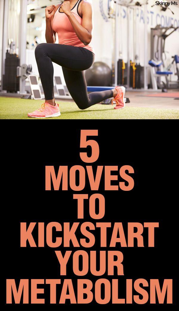5 Moves to Kickstart Your Metabolism