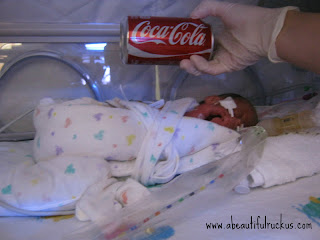preemie compared to coke can