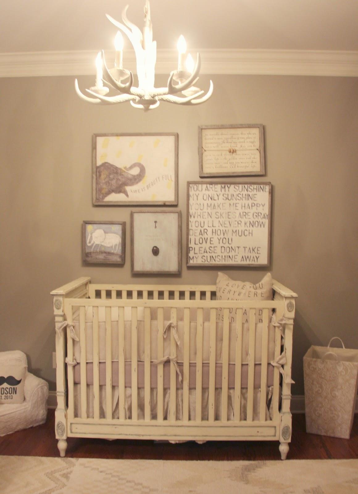 3 Boy Nursery Decor